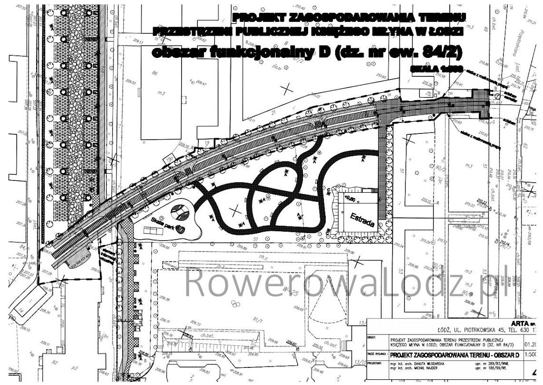 Modernizacji ma być poddany odcinek do ulicy Przędzalnianej po wschodniej (prawej) stronie