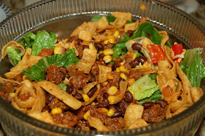 Mom's Taco Salad w/ Fritos
