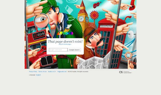 *充滿創意的404錯誤頁面|404 Not Found Error Web page 8