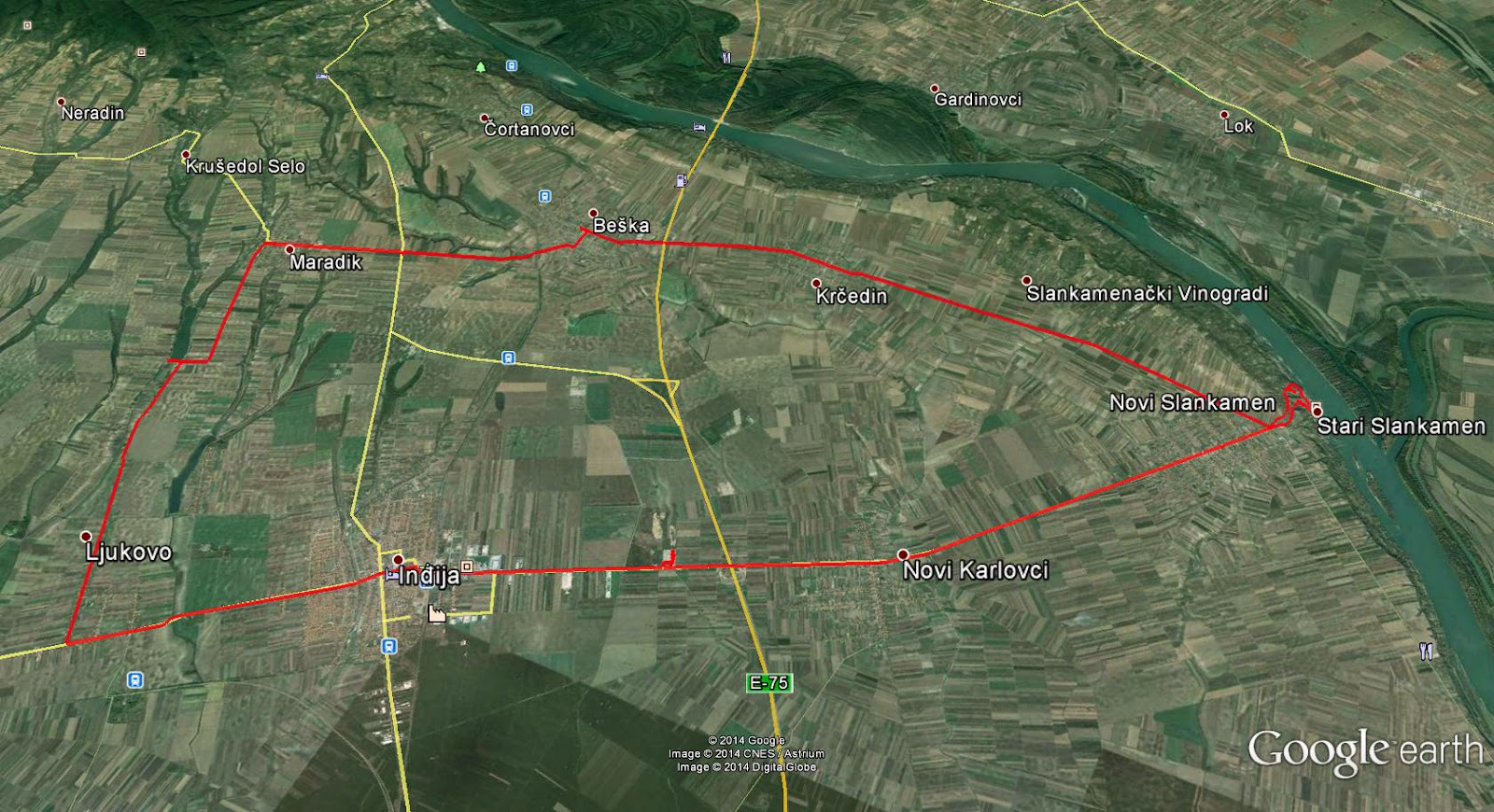 gugl mapa beograd Sremska jezera na dva točka: Jezero Šelevrenac   Staze zdravlja gugl mapa beograd