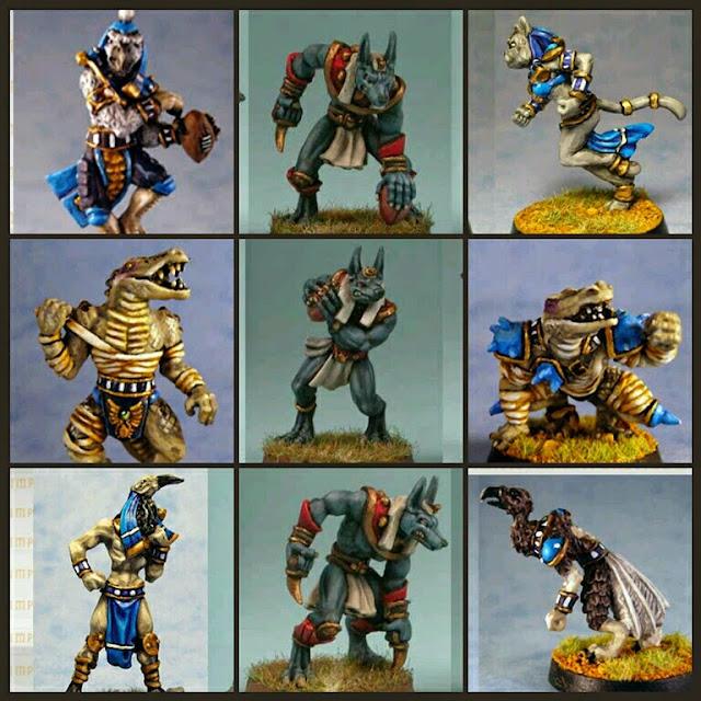 Pharaohs of Vihktora Khemri de Impact! Miniatures