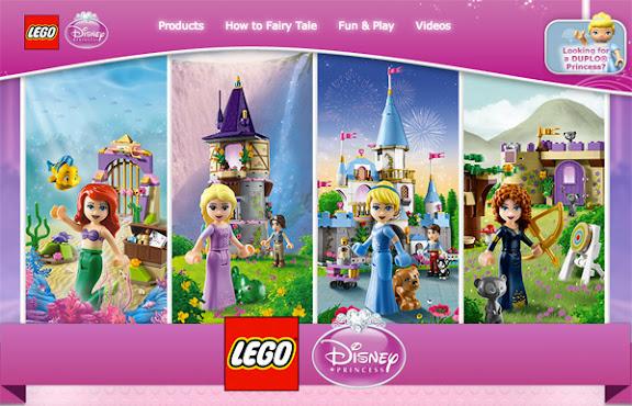 Theme mới LEGO Friends Princess đã ra website riêng