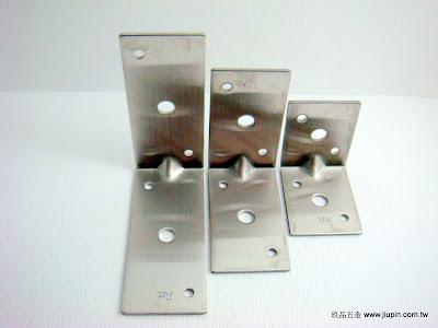 裝潢五金型號:F7327-白鐵固定片規格:37*45/37*65/37*85MM 玖品五金