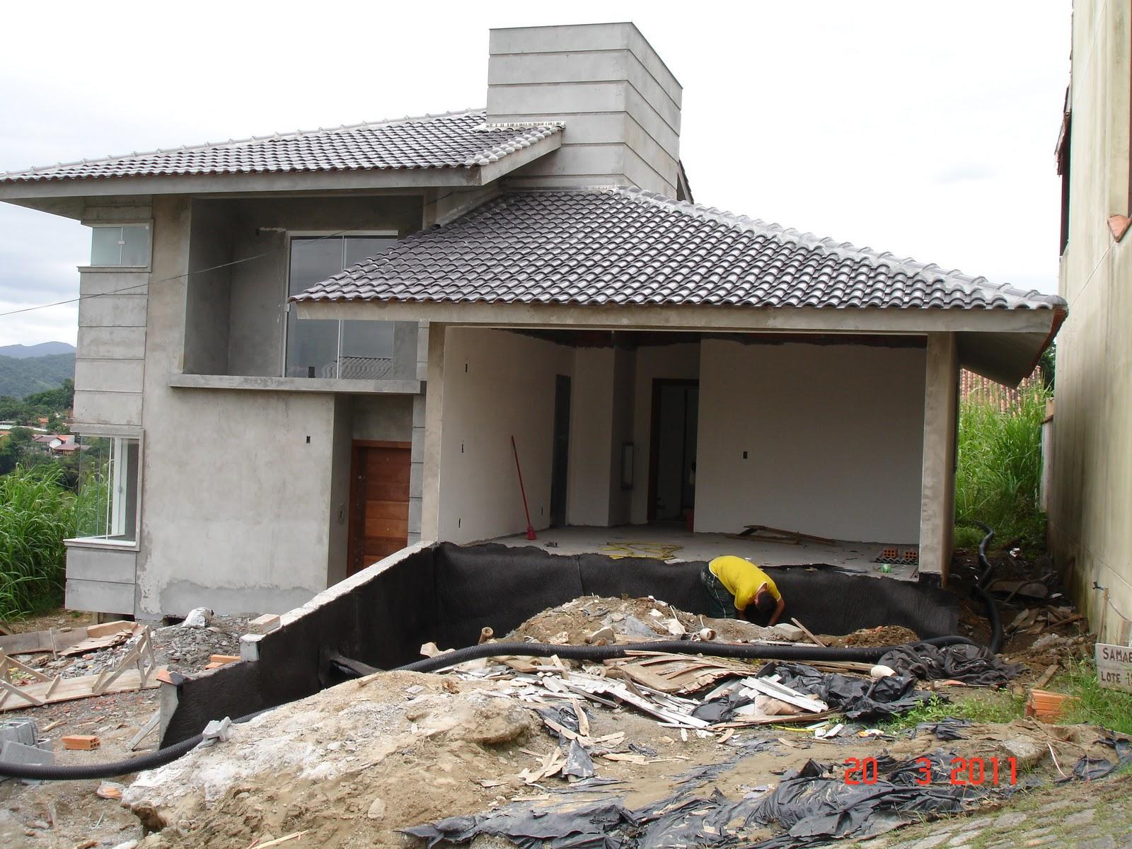 Nossa Casa no Site Construção da fundação ao acabamento: Março  #49632F 1600 1200
