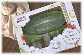 coffret cadeau repas pour bébé Mastrad Baby