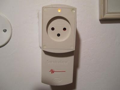 פילטר-מסנן חשמל מלוכלך