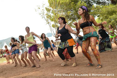 Benicassim,  19/08/2013 - Sunsplash 2013 - African Village / Danza Africana - Violeta Palazon © Rototom 2013