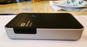 WD ra mắt ổ cứng di động tích hợp WiFi
