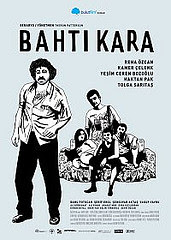 Bahtı Kara sinema film afişi