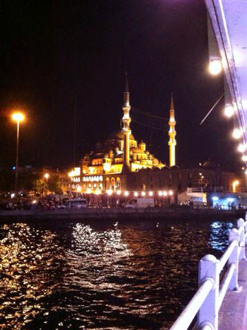 Pont de galata Istanbul by night