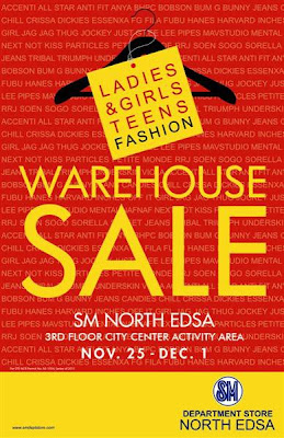 warehouse sale at SM North Edsa