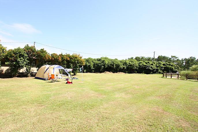 筒城浜キャンプ場
