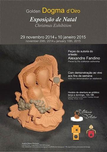 Exposição de Natal - Golden Dogma D'Oiro - Arquivo Museu Diocesano de Lamego