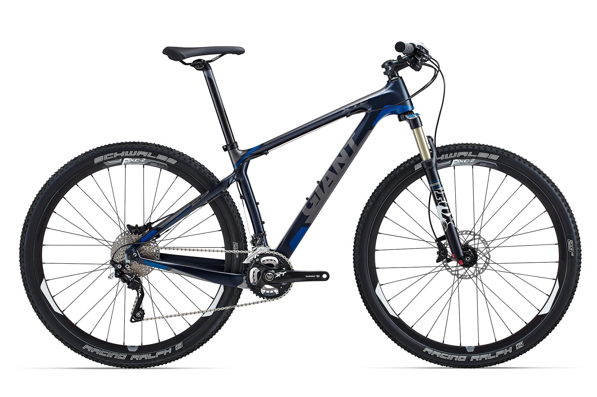 Xe dap the thao dia hinh GIANT XTC Advanced 29er 1, xe dap the thao, xe dap trinx, xe đạp thể thao chính hãng, xe dap asama, XtC Advanced 29er 1 Metallic Blue