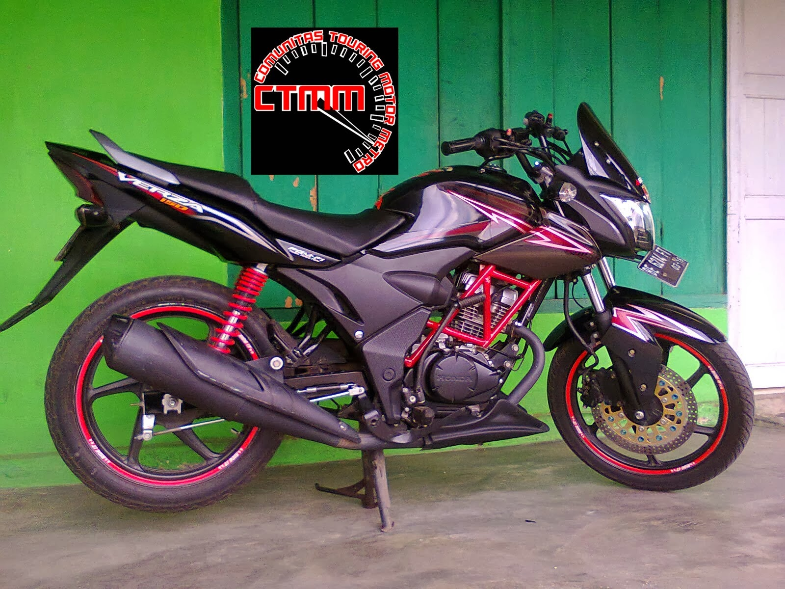 Honda Cb150r Modifikasi Drag