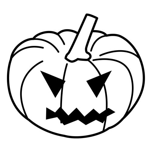 Pinto dibujos calabaza de halloween para colorear - Calabazas halloween para imprimir ...