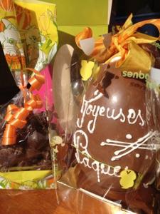 French village diaries silent sunday Easter egg boulangerie