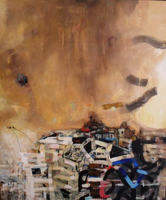 Construcción II, pintura de Alejandro Martínez Corredor