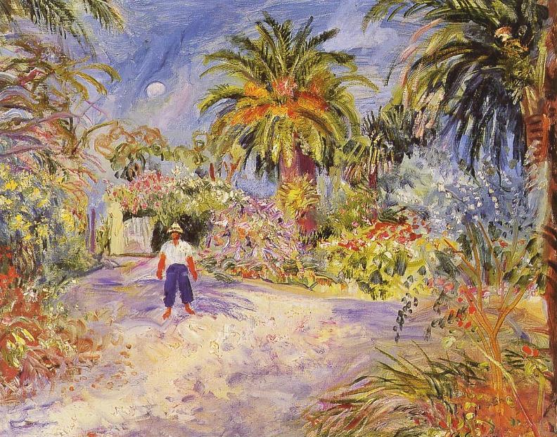 Charles Camoin - Jardin à Saint-Tropez