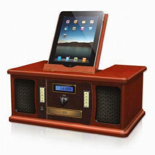 Innovative Technology Vintage iPad iPod Dock ITVS-850i