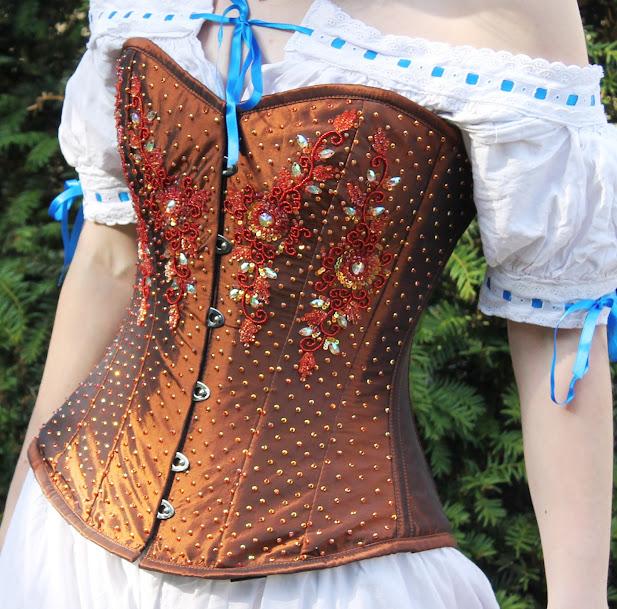 robe à tournure