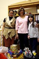 Терезита и  Иоланта -   это друзья проекта, которые помогли нам с подарками для детей и мамочек.