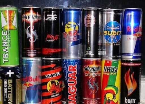 Вредные энергетические напитки