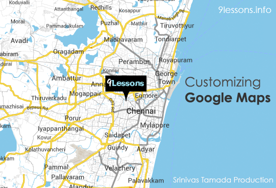 Customizing Google Maps