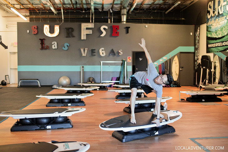 Surfset Las Vegas Gym.