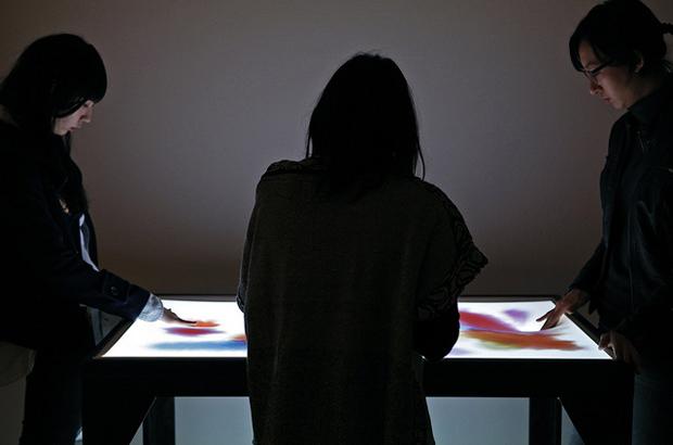 """""""Soak, Dye in light."""" by everyware (2011)"""