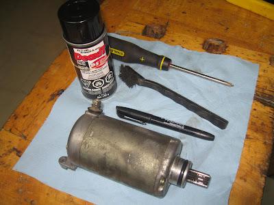 Starter Motor Cleaning Tutorial IMG_9465