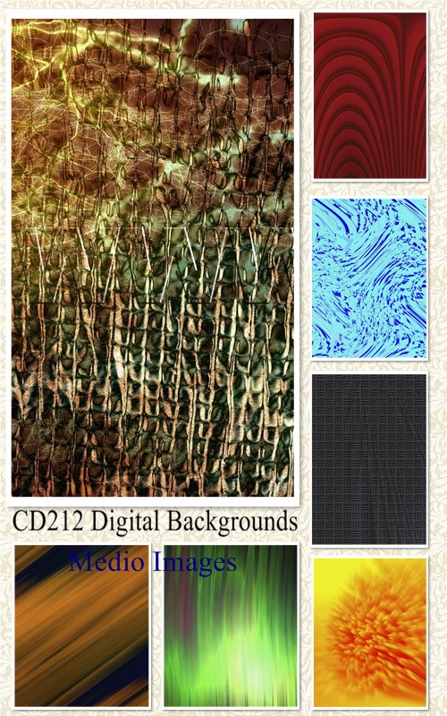 Medio Images: CD212 Digital Backgrounds