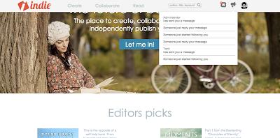 Indie homepage
