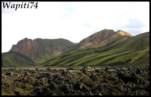 Un tour  d'Islande, au pays du feu... et des eaux. - Page 3 72-Landmannalaugar