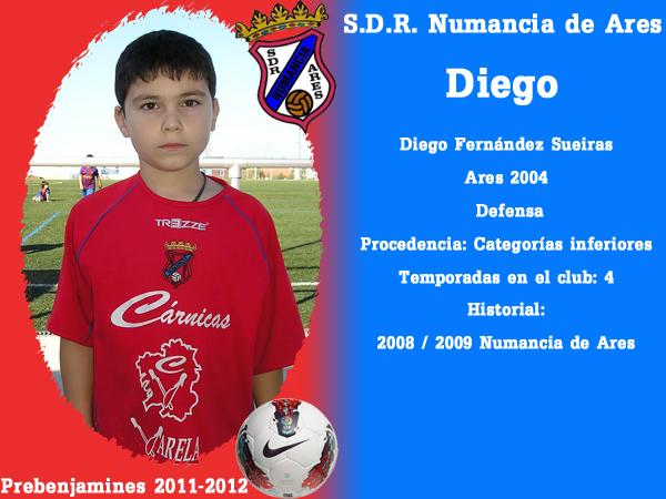 ADR Numancia de Ares. Prebenxamíns 2011-2012. DIEGO