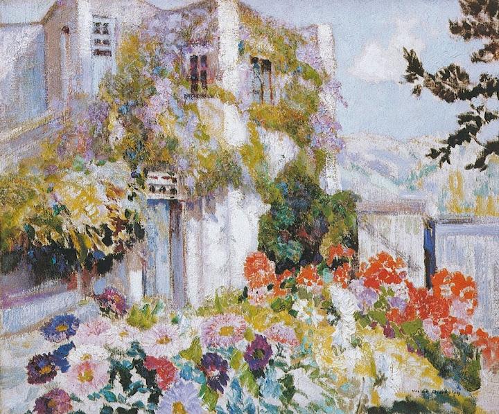 Victor Charreton - La villa mauresque