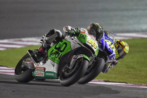 Una caduta toglie Bautista dalla lotta per il podio. Redding settimo al debutto in MotoGP