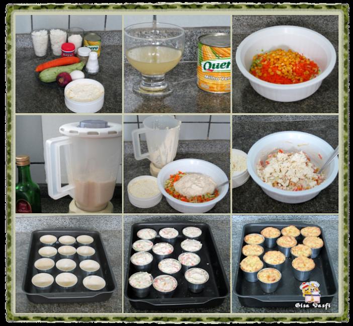 Muffins de arroz com legumes 3