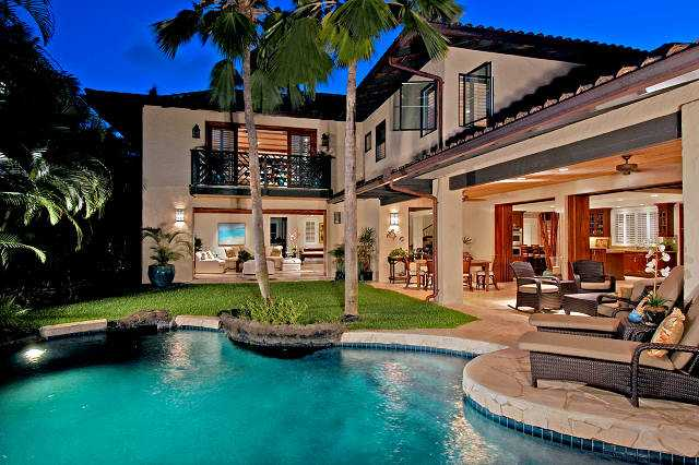 Honolulu real estate photos most beautiful homes for Modern homes hawaii