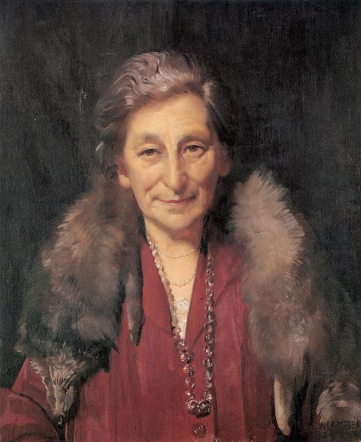 George Lambert - Mrs Annie Murdoch,1927