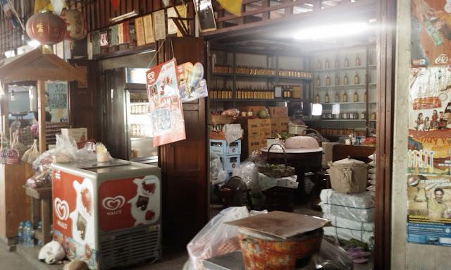 Klong Suan 100 year Market in Samut Prakan, Thailand