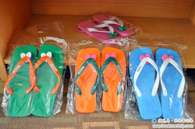 墾丁福華渡假飯店沙灘鞋