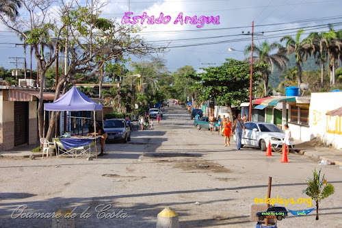 Playa El Malecon (Playon) Ar103 estado Aragua, sector Ocumare de la Costa