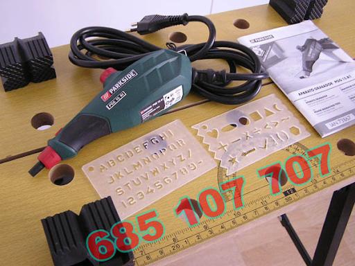 Grabador electrico nuevo para grabar en
