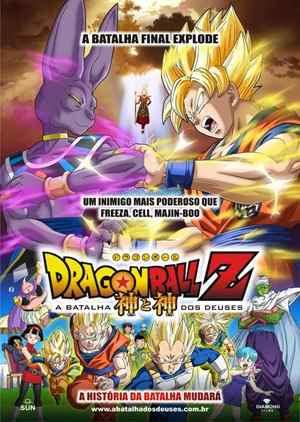 Filme Poster Dragon Ball Z: A Batalha dos Deuses R5 XviD Dual Audio & RMVB Dublado