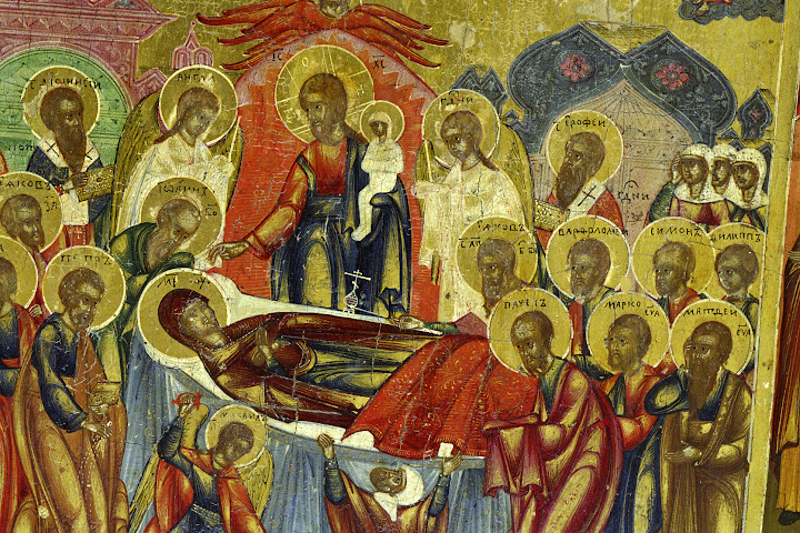 The saving healing power of the Theotokos