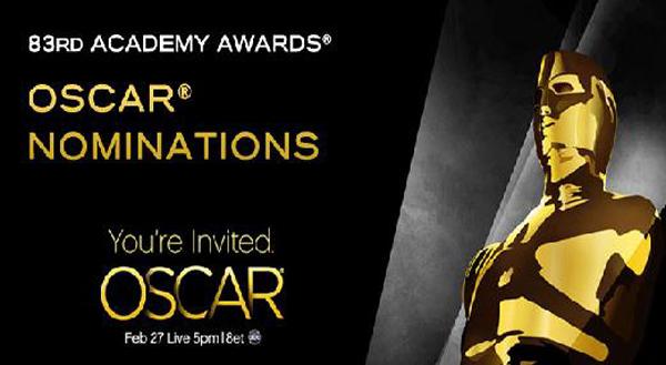 Daftar Pemenang Academy Award 2011 - Piala Oscar 2011