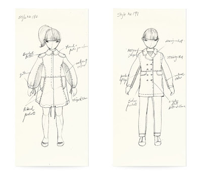 Fashionary memo kids figure with fashionary templates printed on every memo page sketching an outfit will be much faster plus everything is in the same size and proportion pronofoot35fo Images