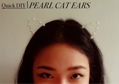 Cat ears SNSD inspired ASOS DIY ALTERCOUTURE