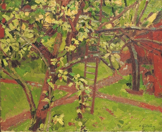 Harold Gilman - The Orchard